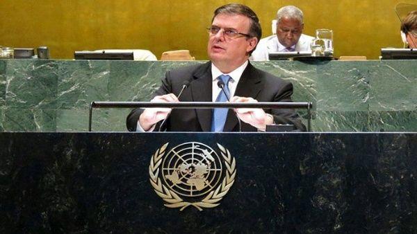Canciller Ebrard: México se opone a las medidas de bloqueo a otras Naciones