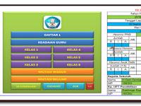 Aplikasi Daftar Urutan Kepegawaian Dilengkapi Data Siswa