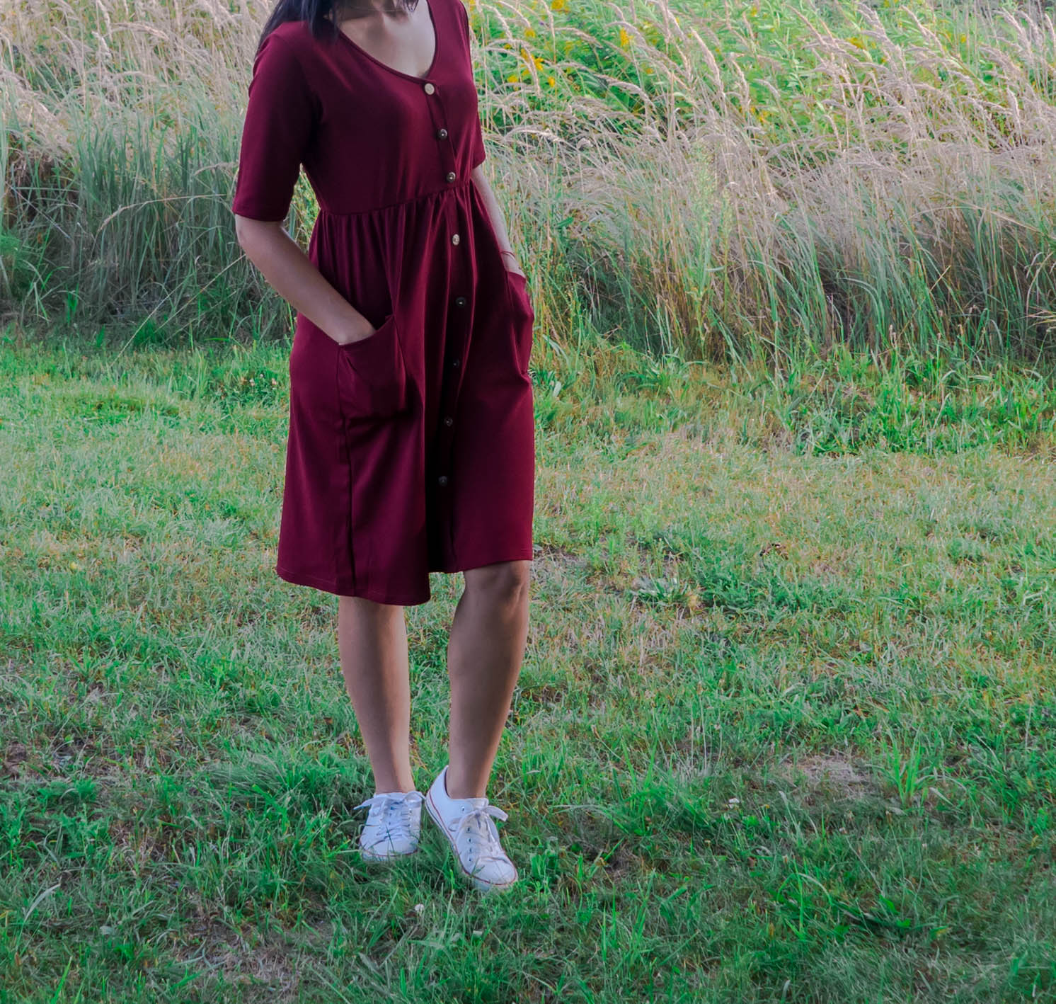 modne sukienki jesień 2020