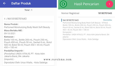 Vitalis Perfumed Moisturizing Body Wash Soft Beauty