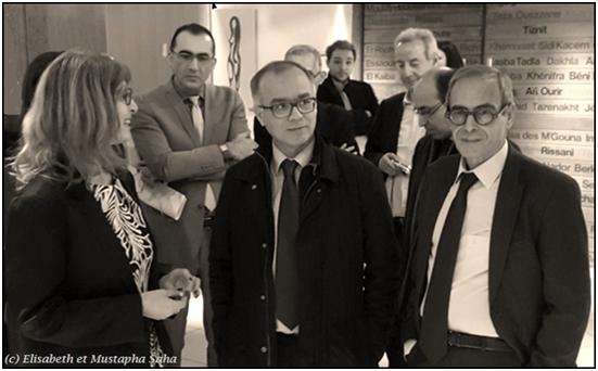 Vernissage exposition femmes vibrations d lisabeth for Fondation maison du maroc