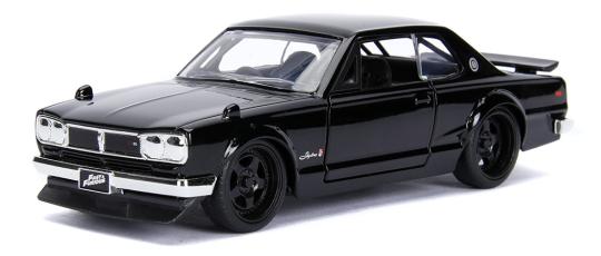 coleccion rapido y furioso, coleccion rapido y furioso jada tyos, coleccion rapido y furioso 1/32, 1971 Nissan Skyline 2000 GT-R (C10)