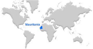 image: Mauritania Map location