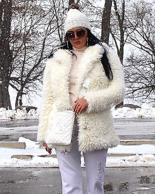 How to wear white for winter