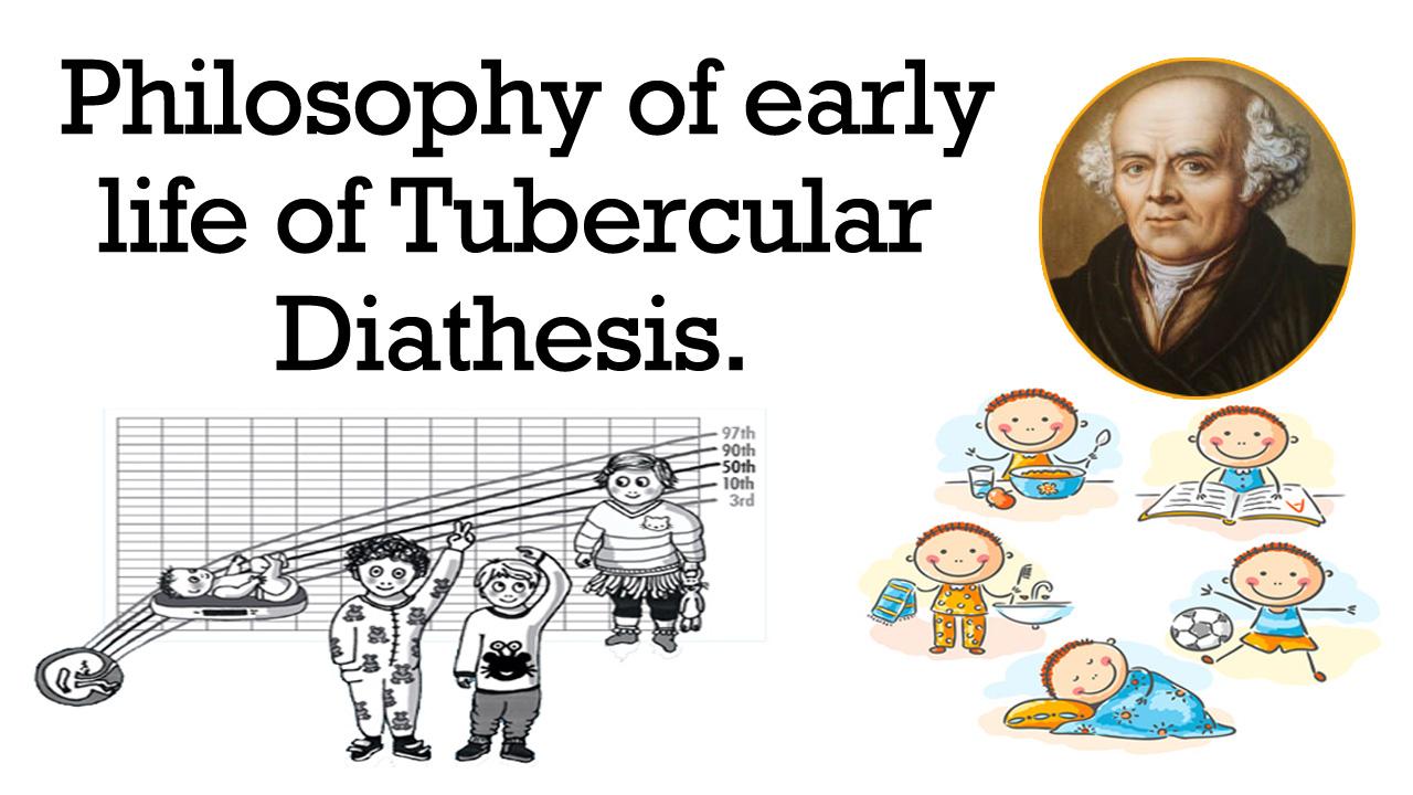Philosophy of early life of Tubercular Diathesis