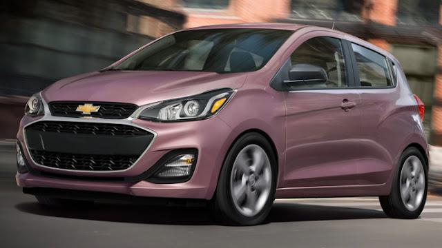 Chevrolet Spark 2020 style et design
