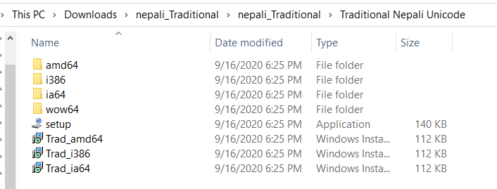 Nepali Unicode Installation Process