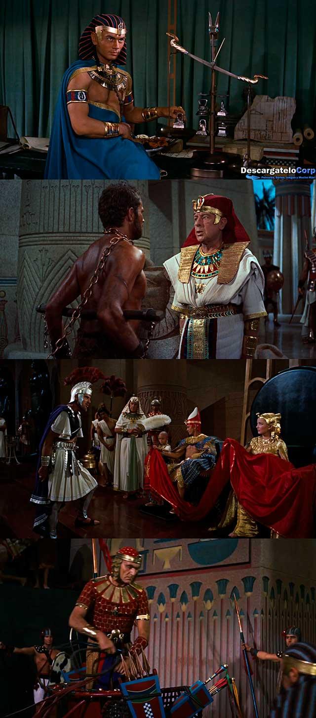Los Diez Mandamientos (1956) HD 1080p Español Latino