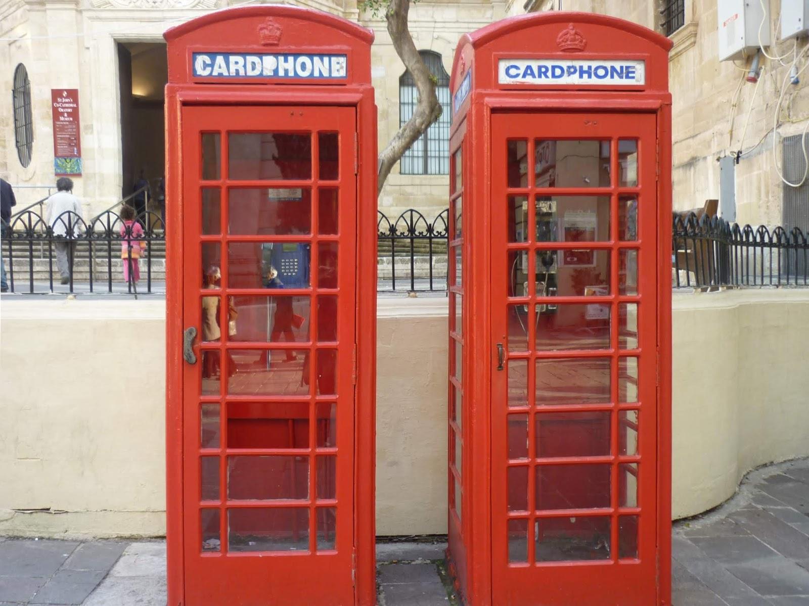 English cardphone