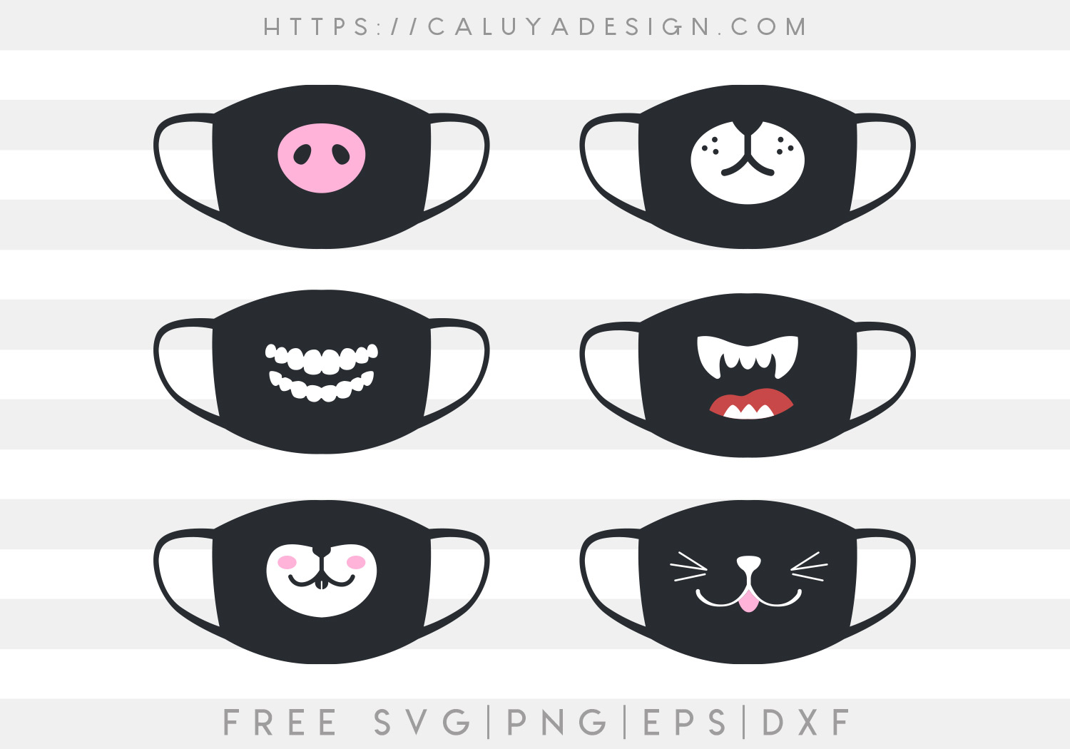 Free Face Mask Design Svgs