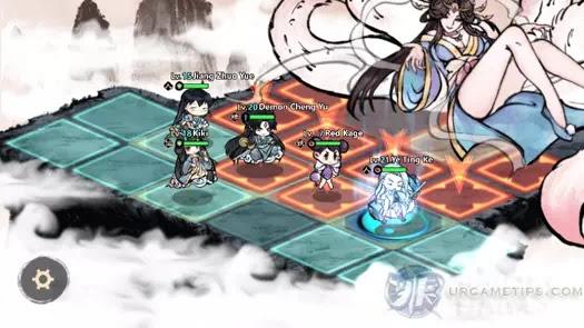 Yokai: Spirits Hunt - Tushan Ninetails Attack Pattern 1