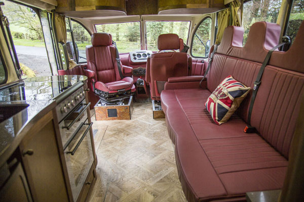 Awesome Conversion 1950 Bedford Ob Bus Rv Amp Camper