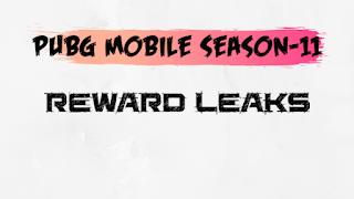 PUBG Mobile Season-11 | Rewards Leaks