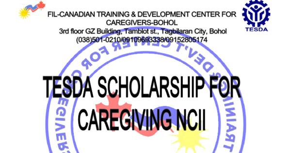 TESDA Scholarship for Caregiver NC II (FIl-Canadian Training & Dev Center Bohol)