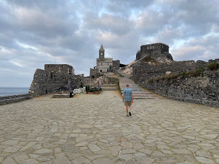 The Church of San Pietro (Porto Venere) and morning clouds