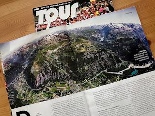 Alpe d'Huez / 21 virages / Massif des Grandes Rousses - Vue aérienne ©Laurent Salino