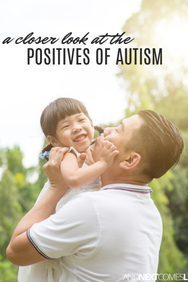 Benefits of autism - a look at the positive traits of autism