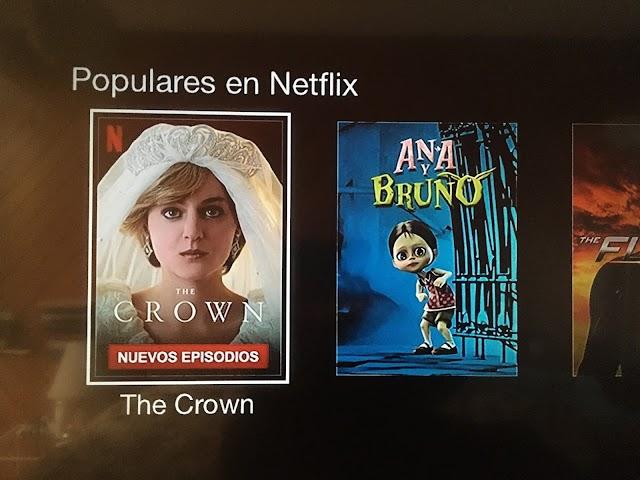 Ana y Bruno, es tendencia en Netflix
