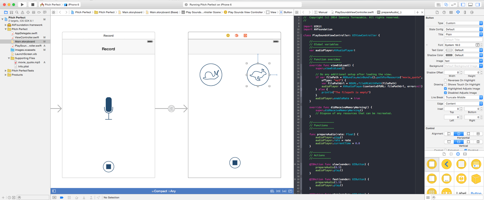 iOS development in swift: What have I learned from