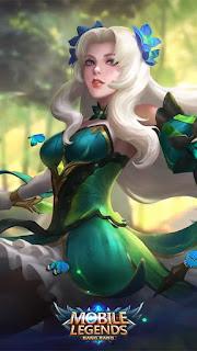Odette Butterfly Goddess Heroes Mage of Skins V3