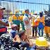Tak Terima Di Pecat Sepihak, Pekerja Bangunan Orasi Di Depan Gerbang PT Imasco