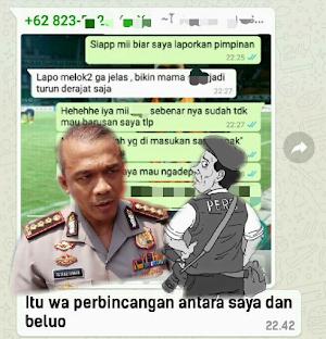 Catut Nama Kapolrestabes Surabaya Oknum Wartawan Ini Meradang