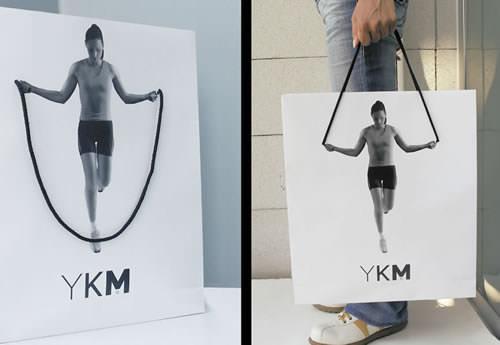 50 Desain Paper Bag/ Tas Belanja Fitnes