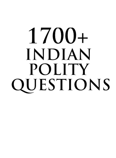 Indian polity 1700 Objective Questions: For all Competitive Examinations