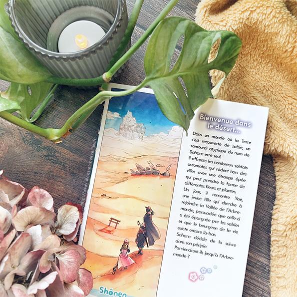 Manga Shônen : Sahara le samouraï aux fleurs