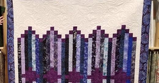 Quilting Land: Line Dance Quilt