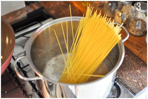 como cozinhar massas