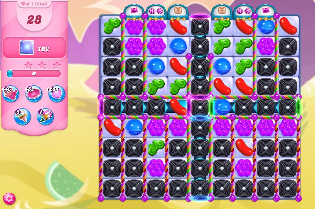 Candy Crush Saga level 9942