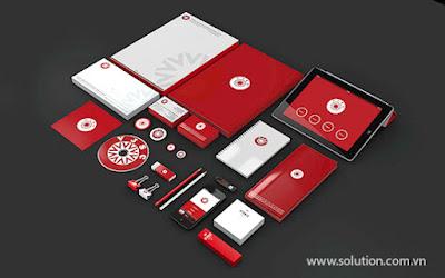 Mẫu thiết kế bộ nhận diện thương hiệu Công ty VJSC