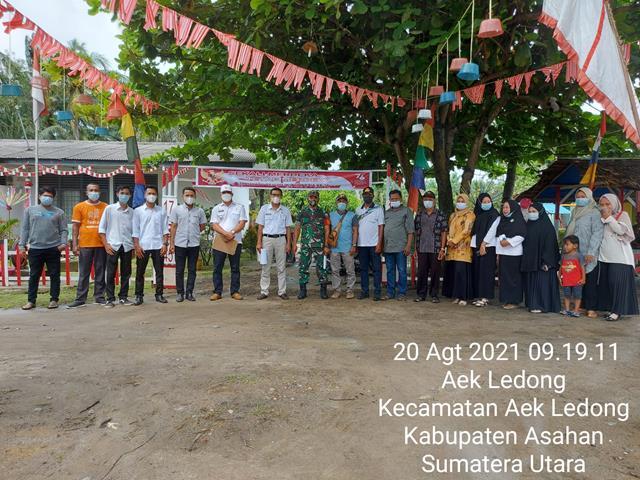 Peduli Kesehatan Balita Dan Ibu, Personel Jajaran Kodim 0208/Asahan Dampingi Posyandu Diwilayah Binaan