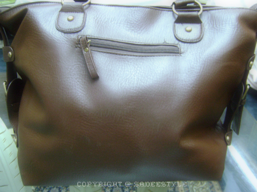 Leather hand bag review