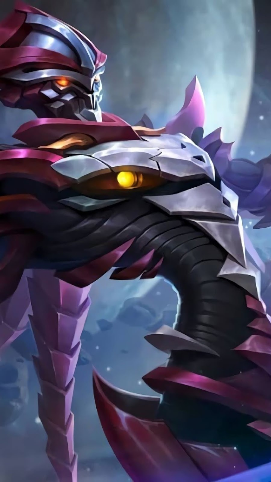 Wallpaper Zhask Crystalized Predator Skin Mobile Legends HD for Android and iOS