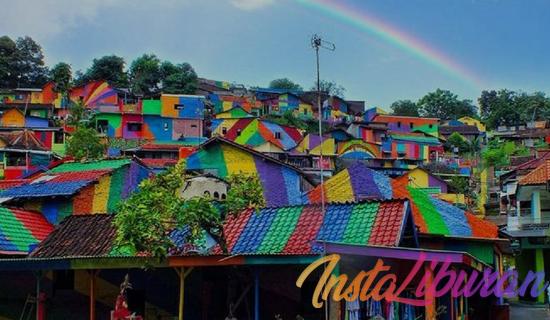 InstaLiburan - Viral Kampung Pelangi Semarang Menarik Perhatian Dunia