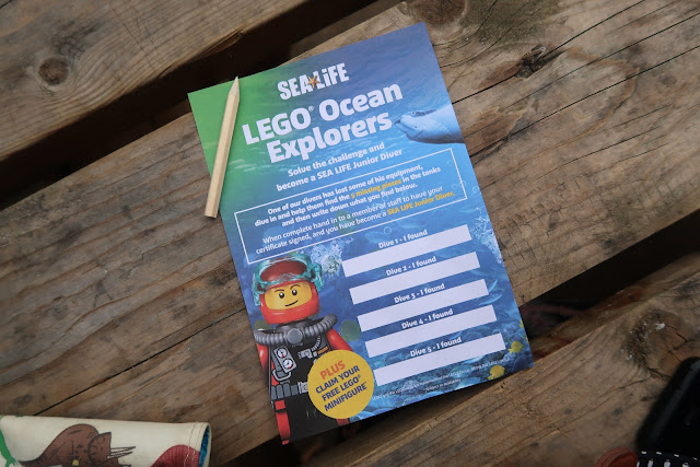 Lego Ocean Explorers at Sealife Weymouth