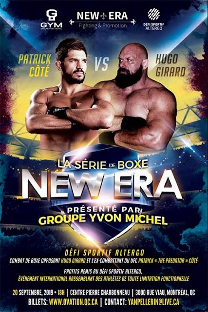 Hugo Girard vs Pat Côté - UFC vs Strongman. StrengthFighter.com