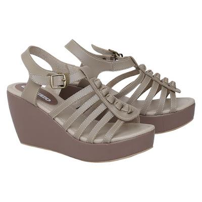 Sandal Wedges Wanita Catenzo KK 1724