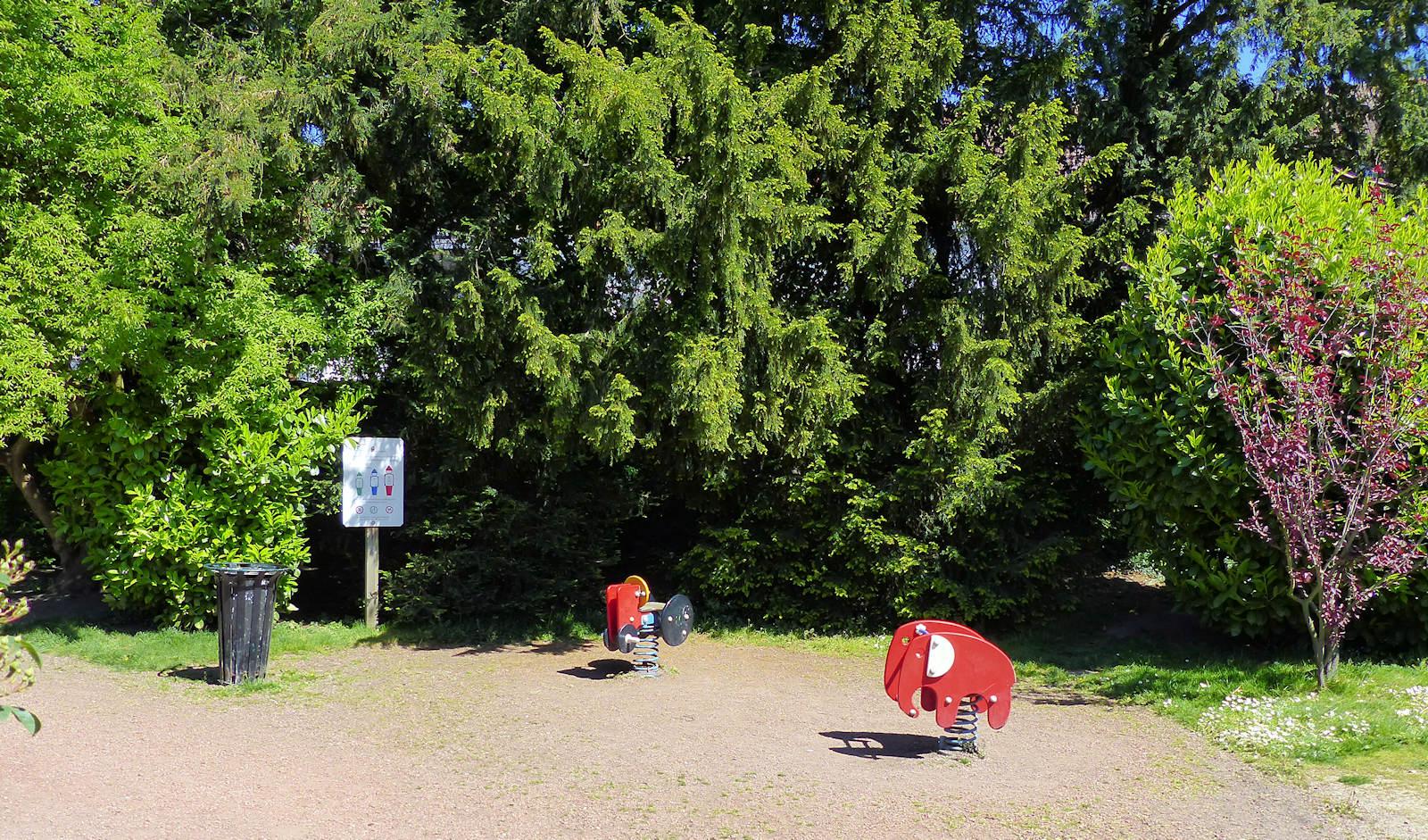 Jardin botanique, Tourcoing - Jeux pour enfants