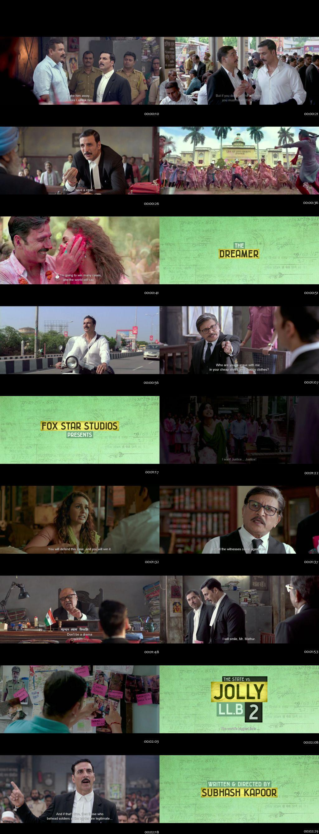 Screenshots Of Jolly LLB 2 2017 Theatrical Official Trailer Free Download HD 720P
