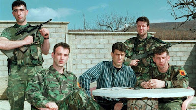Thaci was political chief of Kosovo's rebel army