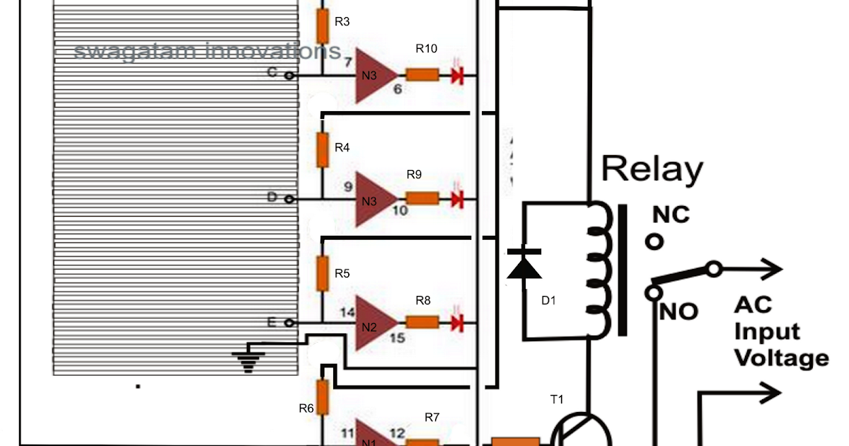Hobby Electronic Circuits: Over Head Tank Water Level