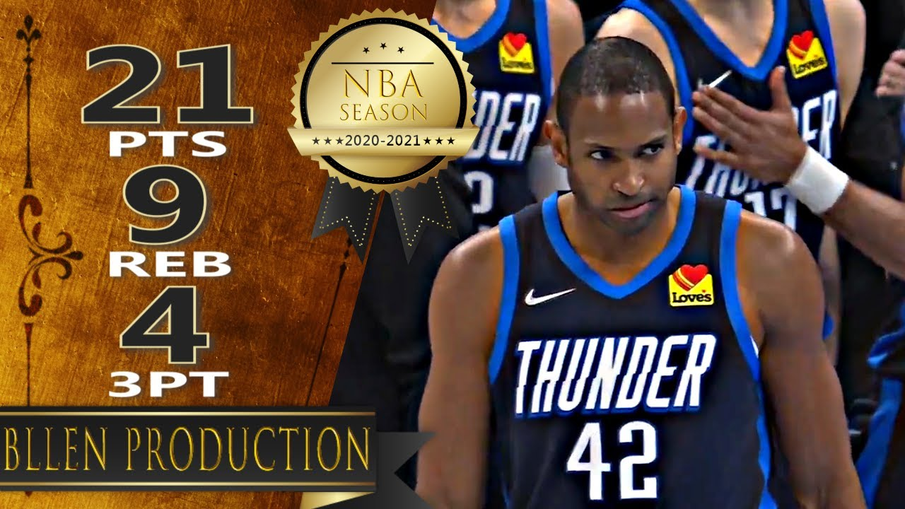 Al Horford 21pts 9reb vs DAL   March 11, 2021   2020-21 NBA Season