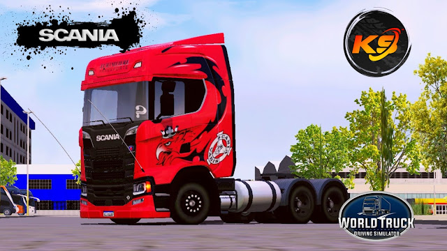 SCANIA S730 - RED GRIFFIN
