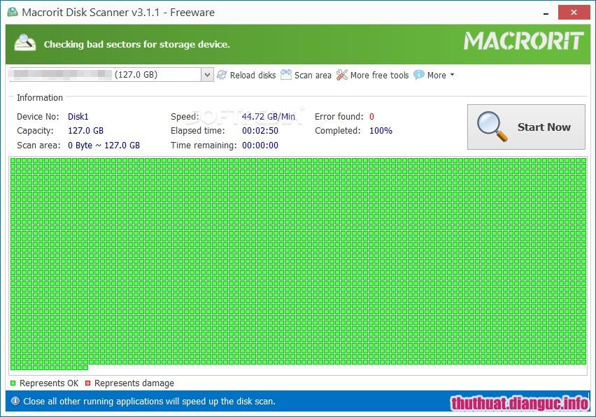 Download Macrorit Disk Scanner 4.3.5 Full Key - Phần mềm kiểm tra ổ cứng