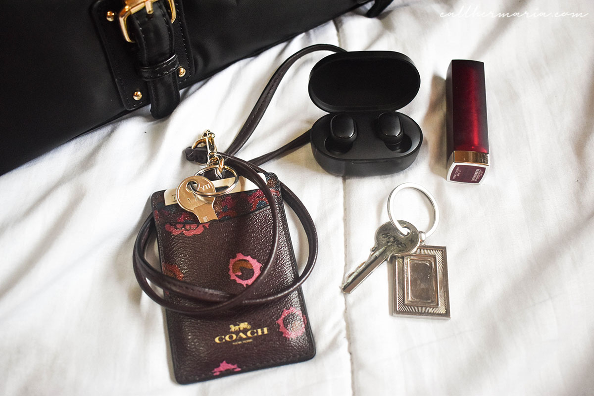 What's in my Bag with ALT Manila London Bag - Front Pocket