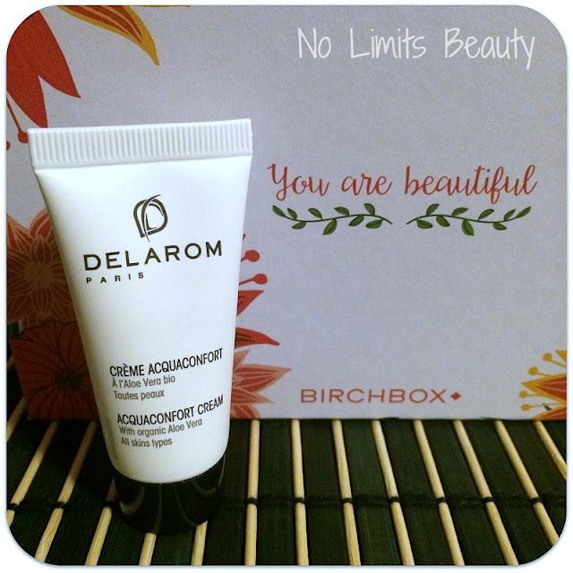BirchBox Marzo 2016 - DELAROM - Acquaconfort Cream