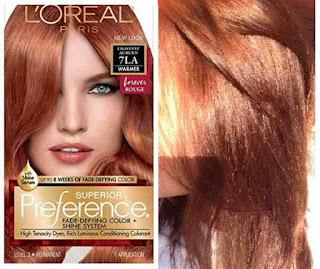 صبغة لوريال preference لتغطية الشعر الابيض